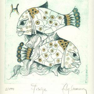 Fische - gefühlvoll, gut, aufopfernd, aber auch bequem, empfänglich, unklar, zerfahren, veränderlich